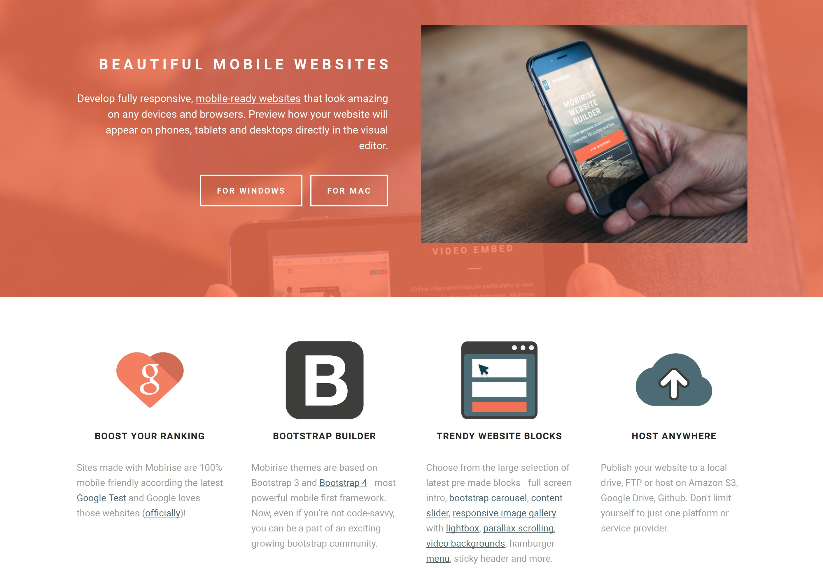 Free Mobile Website Generator