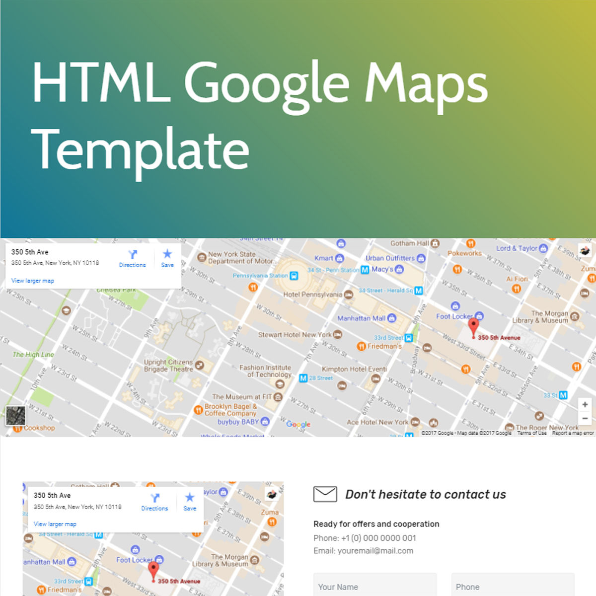 CSS3 Bootstrap  google maps  Themes