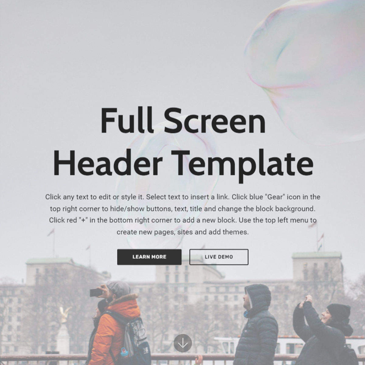 Free Download Bootstrap  Header  Templates