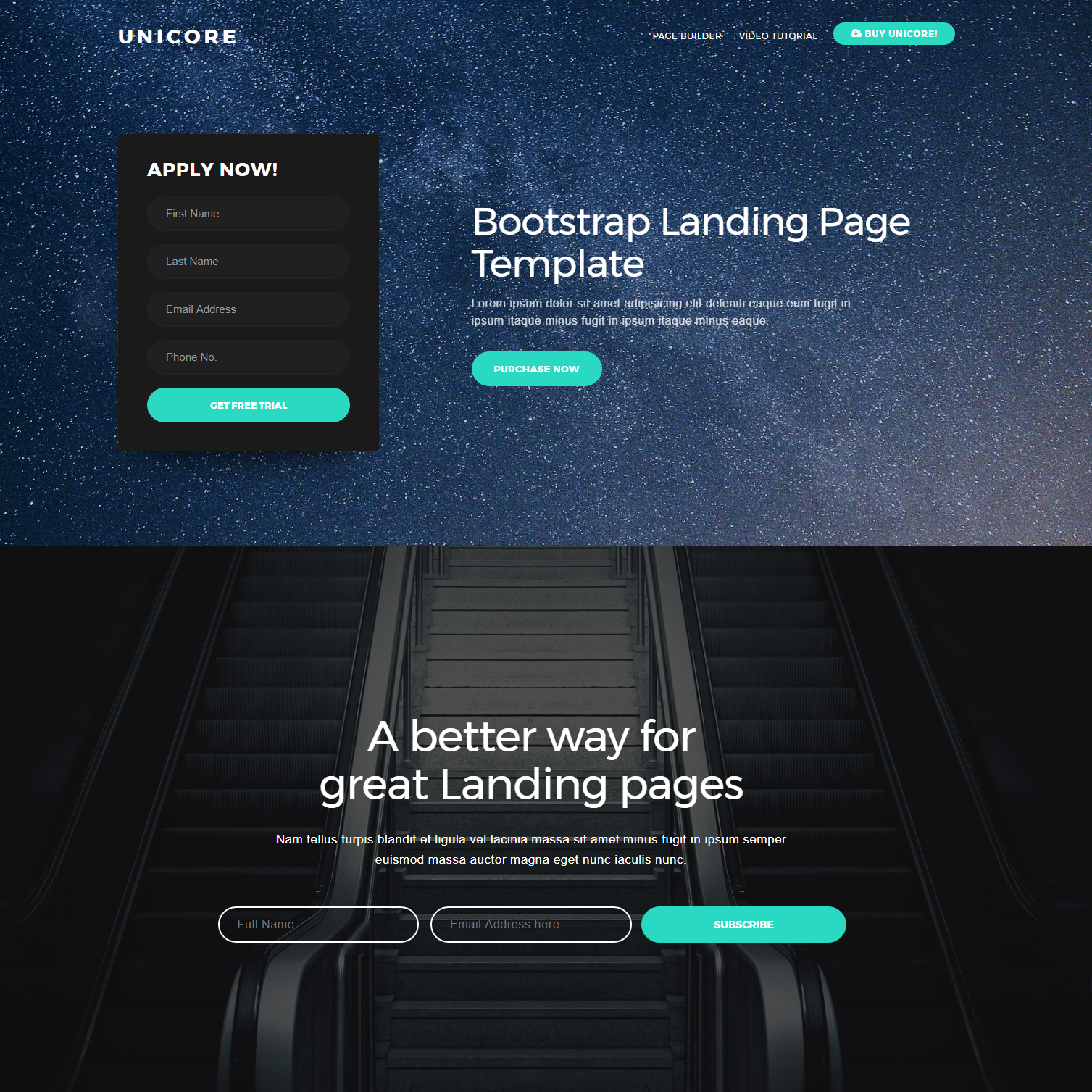 80 free bootstrap templates you cant miss in 2018 unicore bootstrap theme free template download maxwellsz