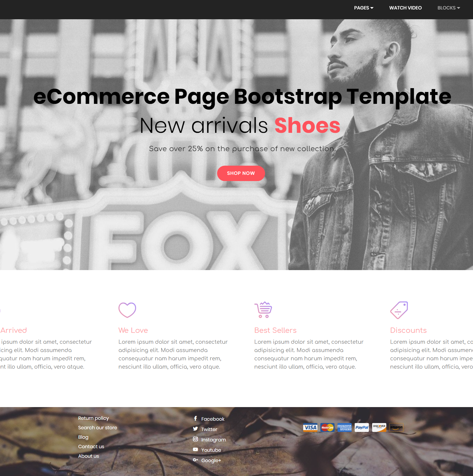 80 free bootstrap templates you can t miss in 2018