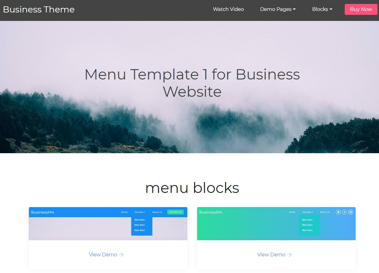 HTML5 Templates for Business