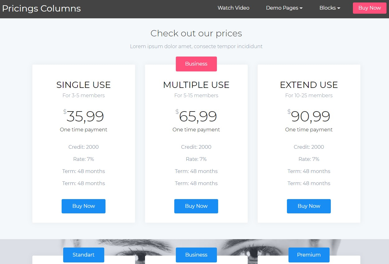 HTML5 and CSS Templates