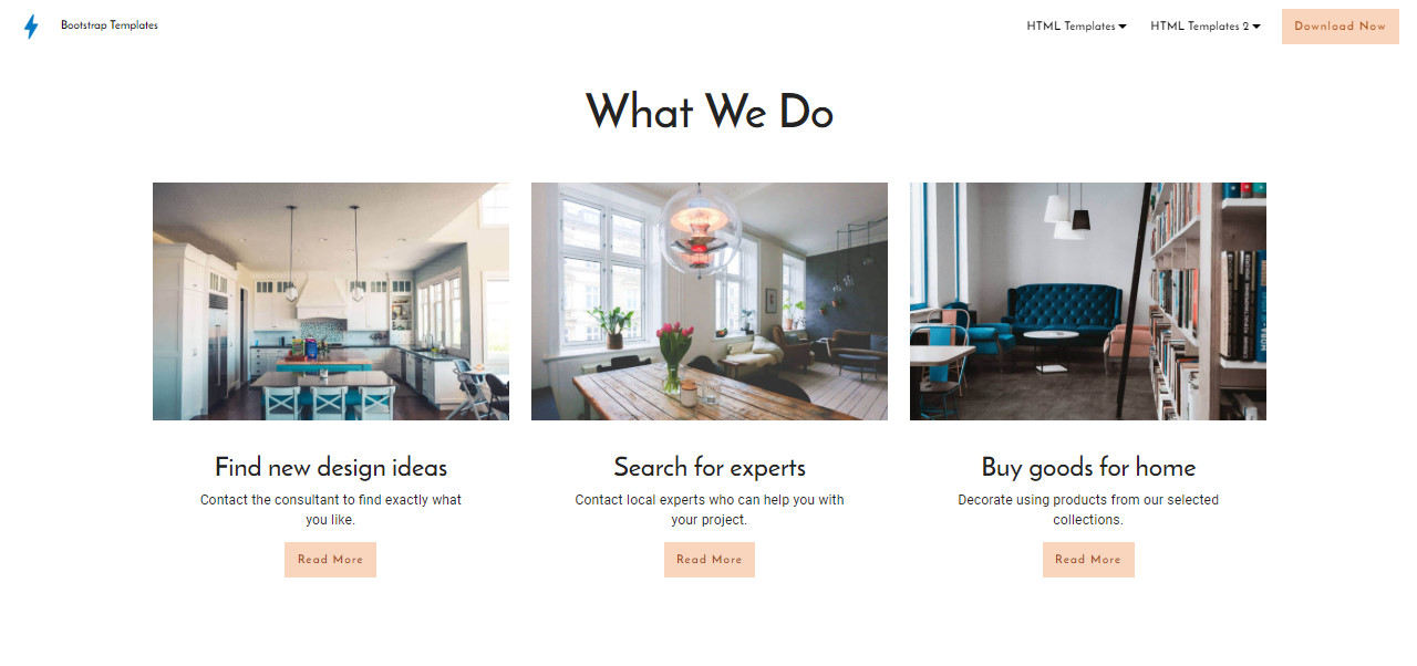 Bootstrap Templates Free Download For HTML5