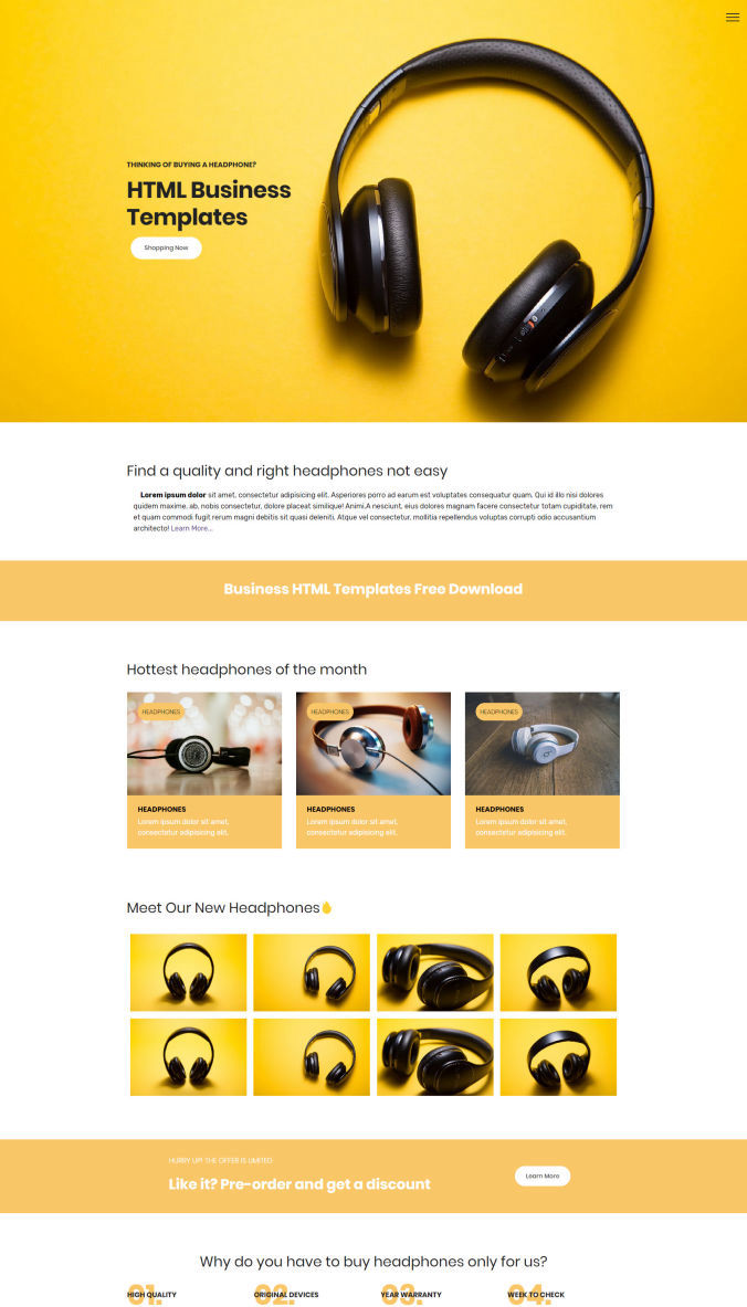 30+ Best Mindblowing Free Website Design Templates List