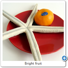 Bright fruit