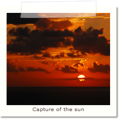 Capture of the sun