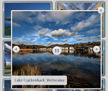 jquery thumbnail slideshow gallery