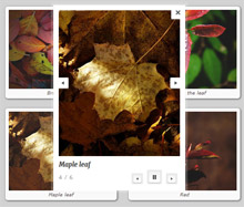 html5 mobile image gallery