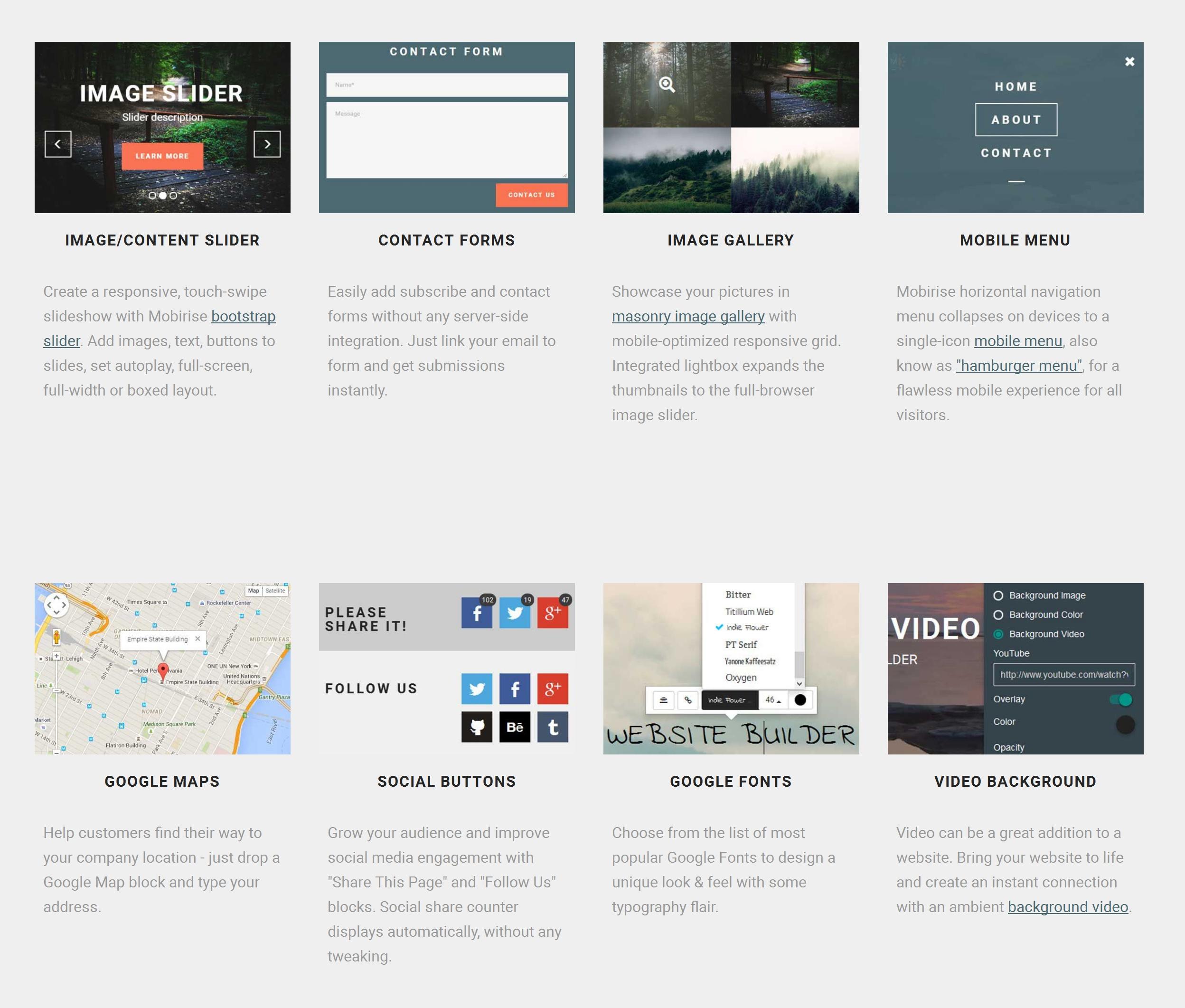 WYSIWYG Mobile Website Generator