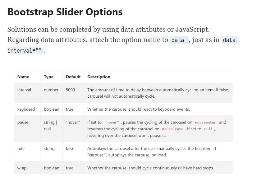 Bootstrap Vertical Slider