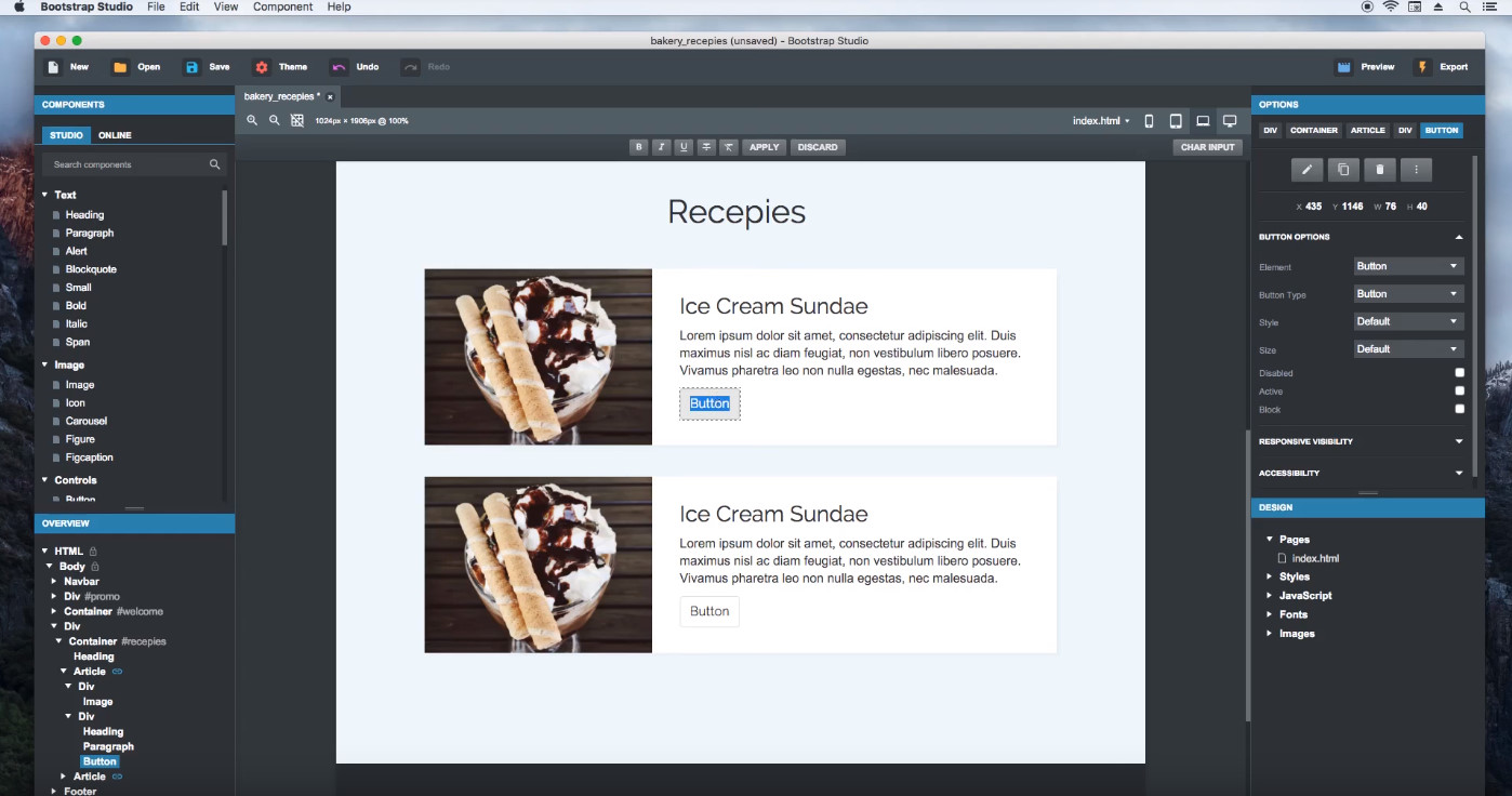 bootstrap studio download, bootstrap studio free, bootstrap studio tutorial