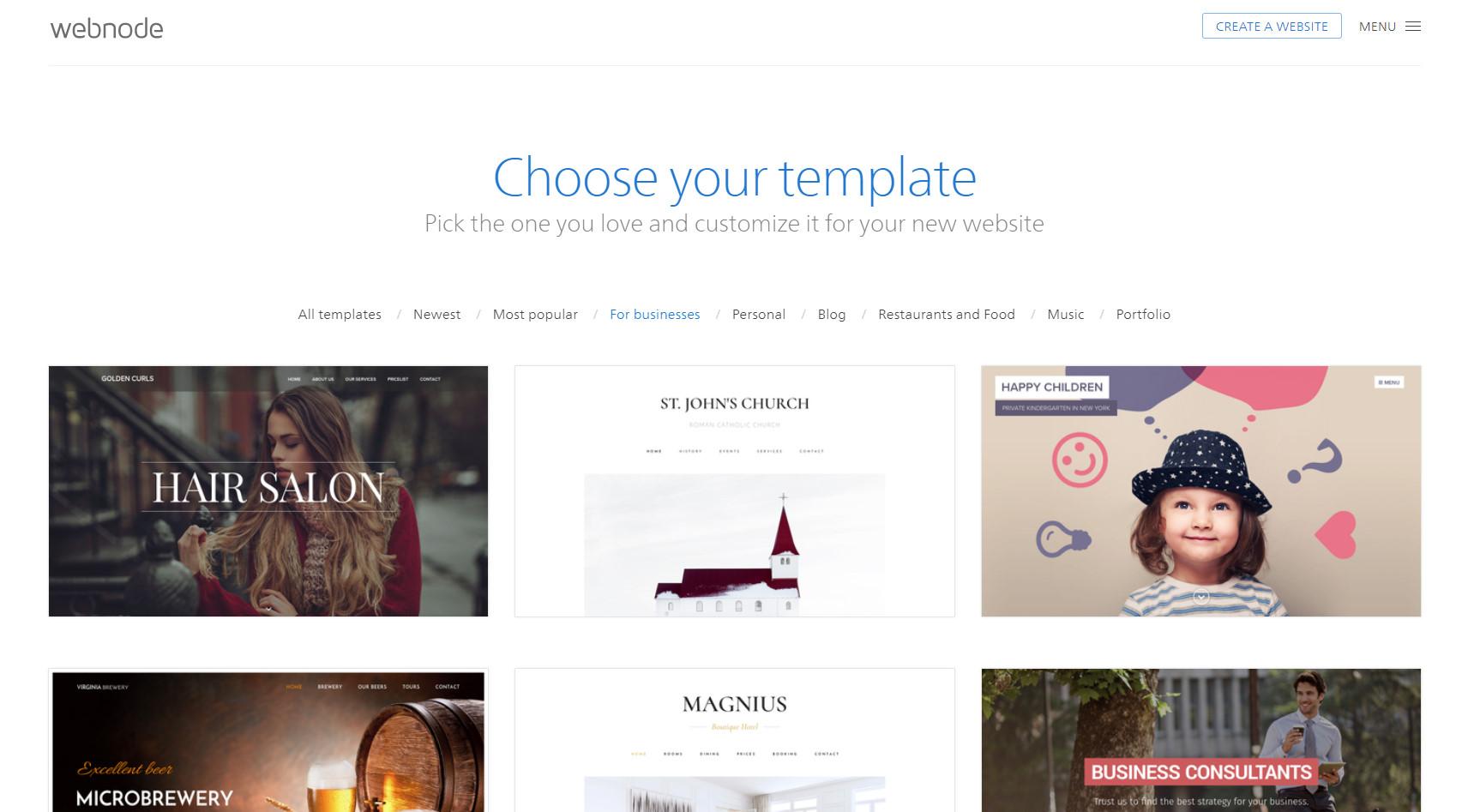 webnode blog, webnode reviews, webnode login