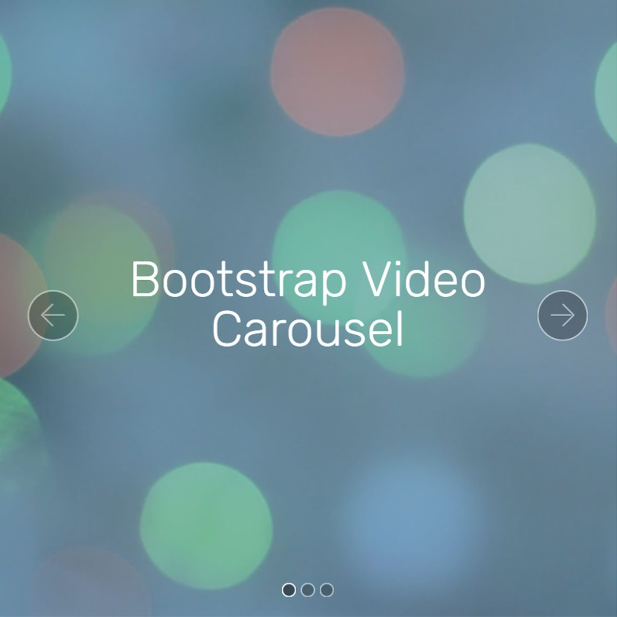 HTML Bootstrap Illustration Slider