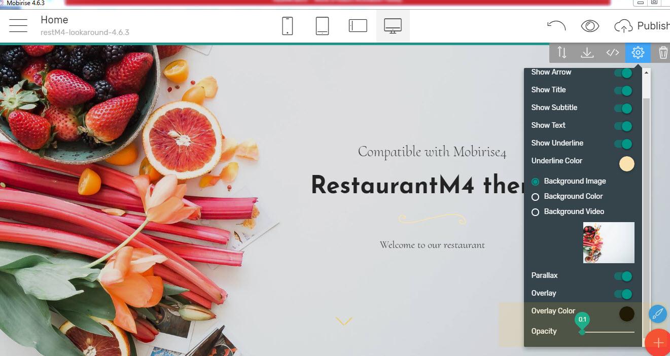 Restaurant Bootstrap Theme