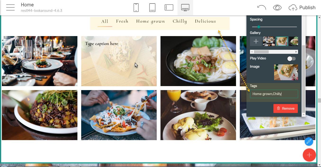 Restaurant Responsive Theme