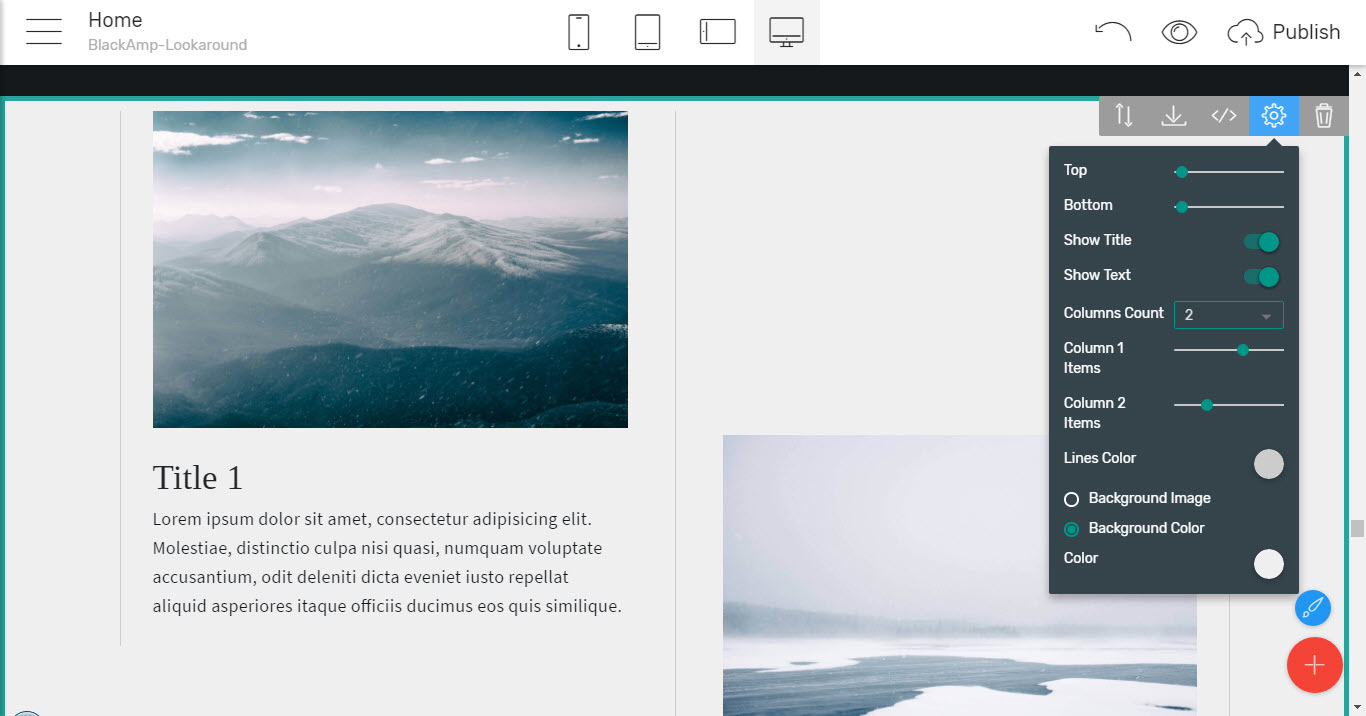 timelines - simple html theme