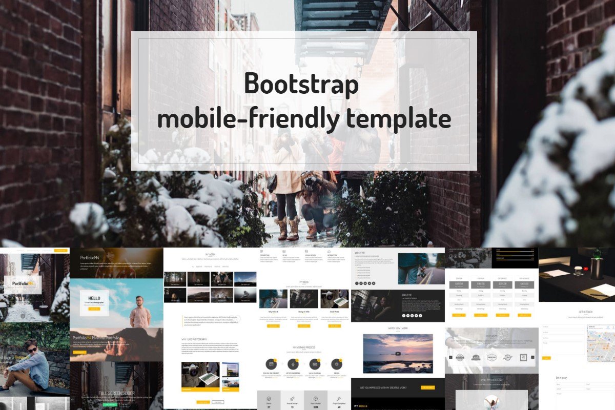 Simple HTML5 Templates