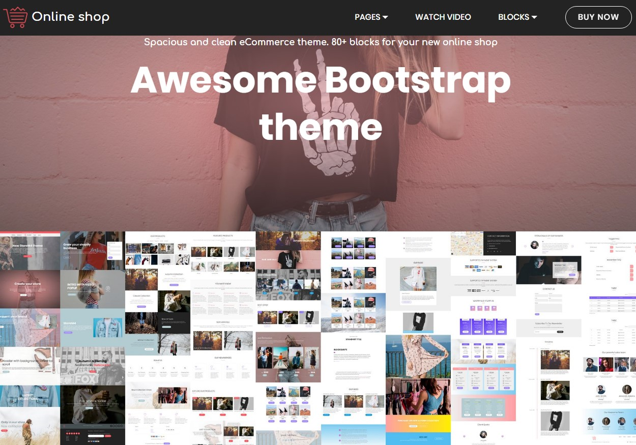 HTML Template  presentation