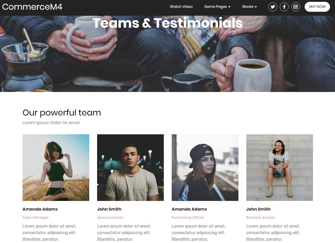 Free HTML CSS Themes