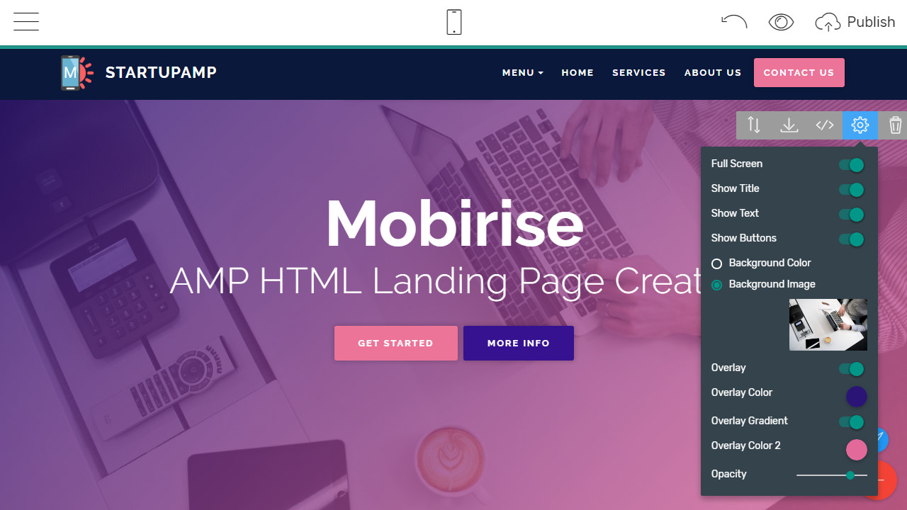 Ultimate AMP Page Builder