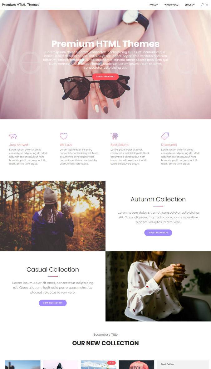 Website Simple Templates