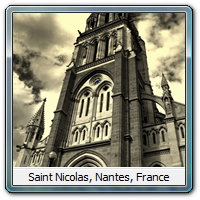 Saint Nicolas, Nantes, France