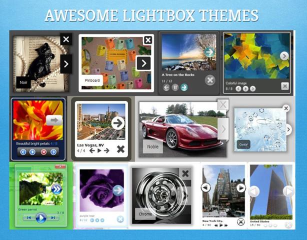 jQuery Lightbox Generator  Mobile-ready, Responsive Lightbox